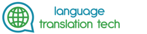 Language Translation Tech Logo 2